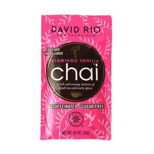 David Rio Flamingo Vanilla chai Decaf sample