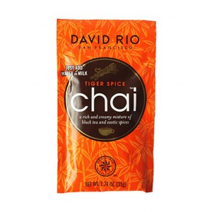 David Rio Tiger spice chai sample