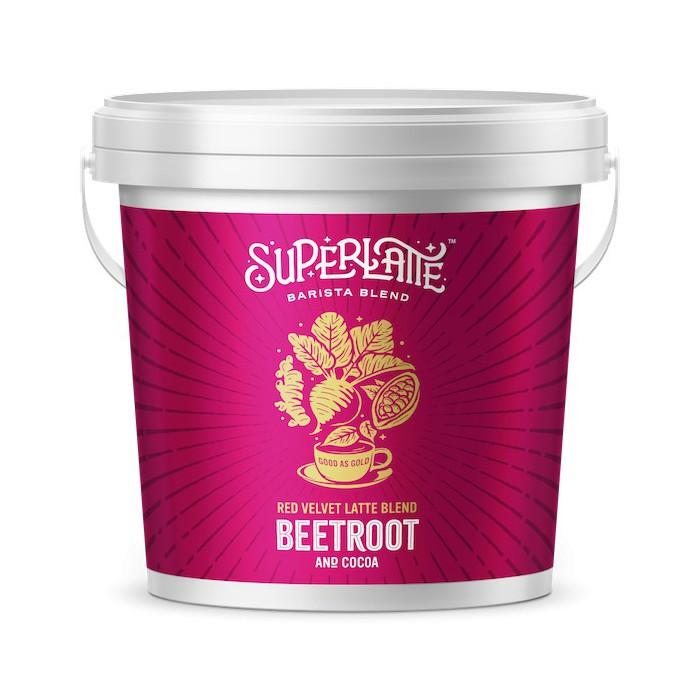 Red Velvet Latte 750 gr - Biet + Cacao - Super Latte