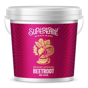 Red Velvet Latte 750 gr - Biet + Cacao - Superlatte