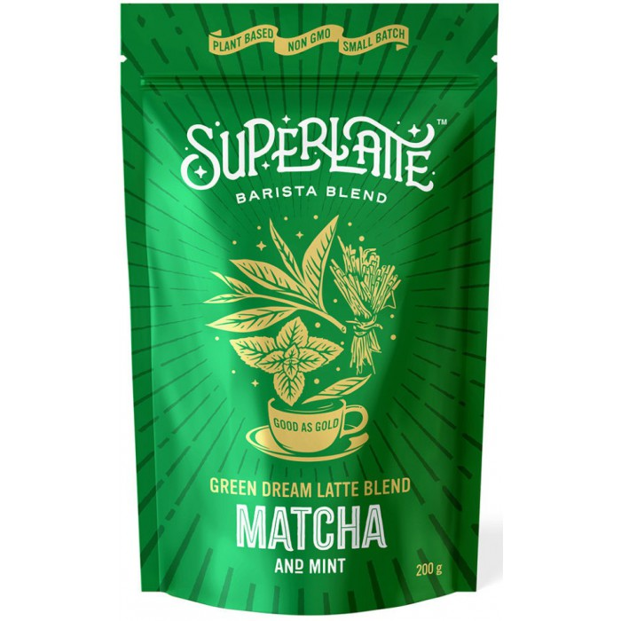 Green Dream Matcha 200 gram SuperLatte