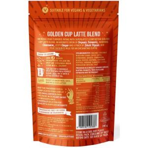 Golden Cup Latte Kurkuma 750 gr - SuperLatte