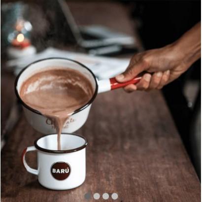 Marshmallow chocolate powder