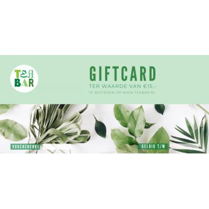 Cadeaubon - Giftcard €15,-