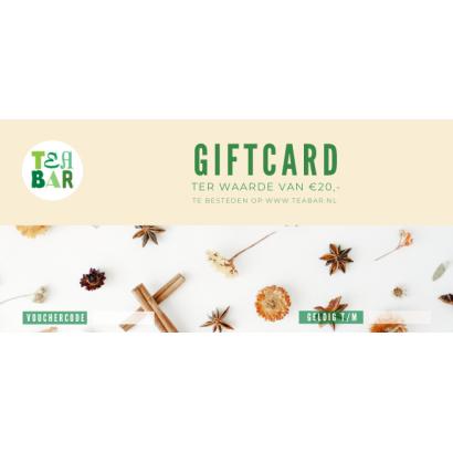 Cadeaubon - Giftcard €20,-