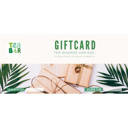 Cadeaubon - Giftcard €50,-