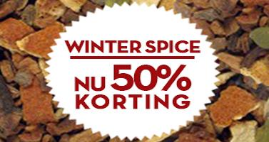 winterspice thee met 50% korting