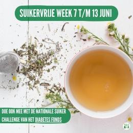 Het is de week van de nationale suiker challenge van het Diabetes Fonds🙌 7 dagen lang gezond eten zonder toegevoegd suikers. Gemiddeld consumeren wij iedere week 99 suikerklontjes aan toegevoegde suikers. Wanneer je minder suiker eet verminder je de kans op overgewicht en diabetes type 2 en tegelijkertijd ga je je ook fitter en energieker voelen! Team Tea Bar doet mee! Jij ook?  #originalteabar  #lossethee #looseleaftea #tealovers #theedrinken #theeleuten #theeliefhebbers #diabetesfonds #nationalesuikerchallenge #nationalesuikerchallenge2021 #nsc2021 #challenge #mindersuiker #suikervrij #suikervermijden #suikervrijeweek