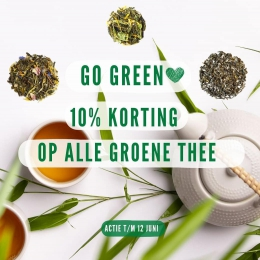 We 💚 groene thee. Dorstlessend,  verfrissend en gezond! Fervente groene theedrinkers (denk aan 3 kopjes per dag) leven zelfs langer, volgens een recente studie aan de Chinese Academy of Medical Sciences 🤔  Wij zijn bereid om de proef op de som te nemen! Nu 10% korting op de gehele groene thee collectie, ook alle melanges en de matcha natuurlijk. Zo kom je wel aan die drie kopjes per dag 🌿  Zie link in bio 🙋🏼♀️ #teabaramsterdam #looseleaftea #tealovers #teatime #greentea #senchatea #matchatea #powerofgreen #healthylifehappylife #lossethee #groenethee #antioxidanten #detox #theeleuten