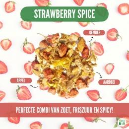 Gemberweek bij Tea Bar! Deze week zetten we één van onze favoriete ingrediënten in het zonnetje: gember 💕 Supergezond, spicy en lekker warm en koud. Onze laatste lievelings is de Strawberry Spice: zoet, pittig en krachtig. Deze blend met stukjes aardbei, appel en gedroogde gember geeft een verrassende kick die bijna aan koffie doet denken (maar dan cafeïnevrij!) 💪  #originalteabar #teabar #gember #gemberthee #aardbei #theeleuten #theeliefhebbers #lossethee #looseleavetea #tealovers #ginger #gingertea #strawberry  #cafeinevrij #kruidenthee #gezondmetkruiden